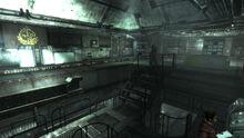 FO3 Citadel Lab Upper level wall terminal