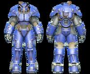 FO4CC X-01 power armor blue