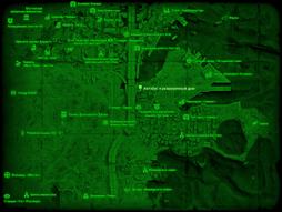 FO4 Автобус и разрушенный дом (карта мира).png