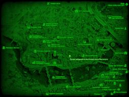 FO4 Лагерь рейдеров в восточной части Института (карта мира).png