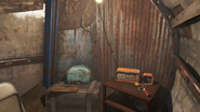 FO4 Bunker Raider radio signal inside