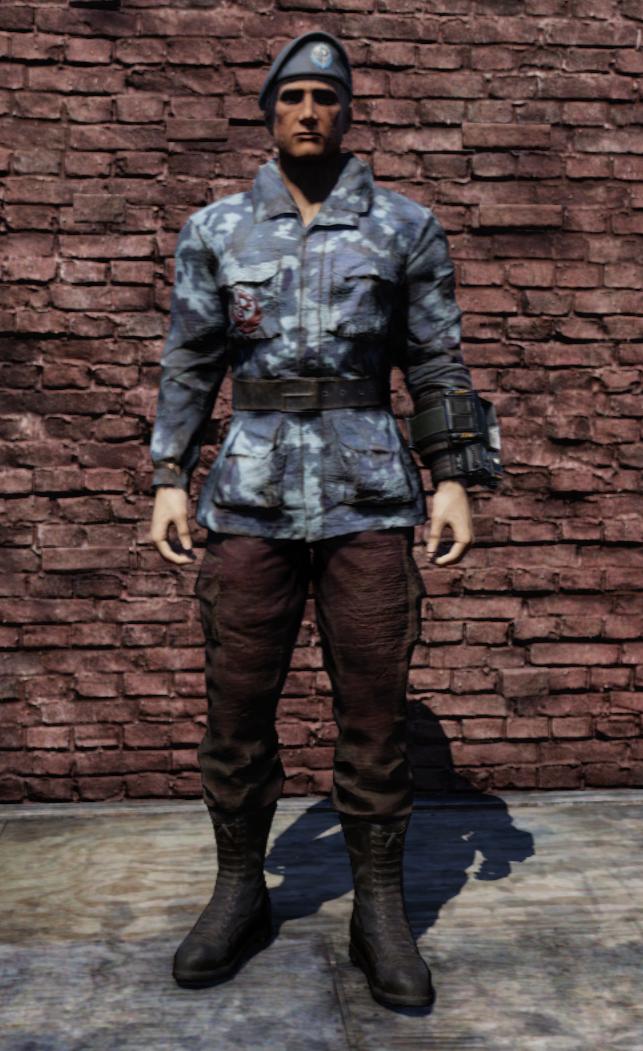 Steel Dawn army fatigues