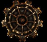 FNV Vault 108 gear door