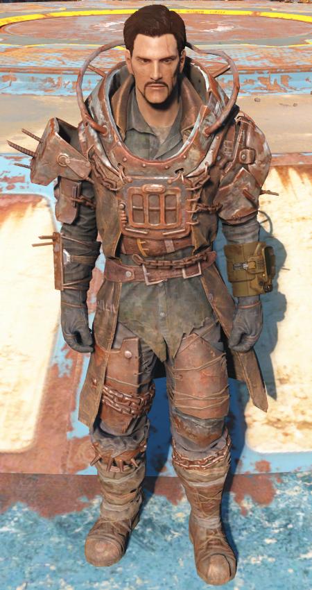 Бойцовская броня