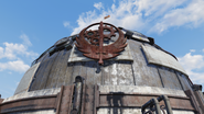 FO76SD Fort Atlas dome closeup