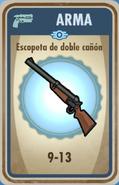 FOS Escopeta de doble cañón carta