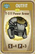 FoS T-51f Power Armor Card