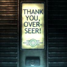 Vault 101 Thank you, Over-seer!.jpg