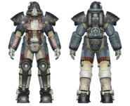 FO4CC T-51 power armor minutemen revolutionary