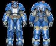 FO4CC X-01 power armor racing stripes