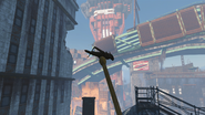 FO4 Faneuil Hall Gilded Grasshopper place