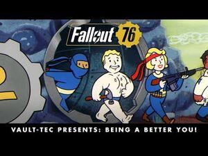 Fallout 76 – Vault-Tec Presents- Being a Better You! Perks Video PEGI