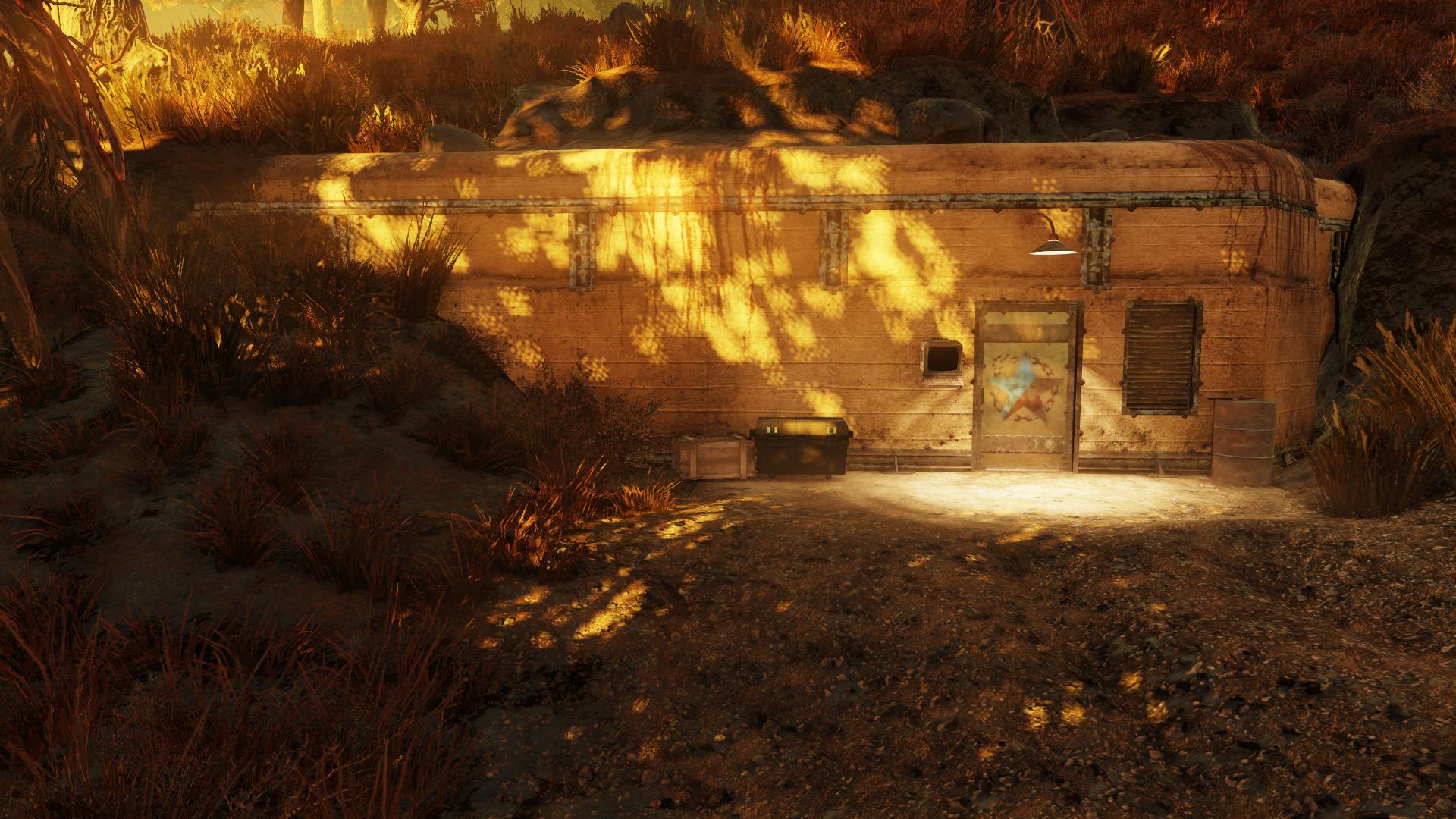 Abbie's bunker