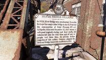 FO76 Point Pleasant (Silver Bridge sign)