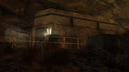 Ransacked bunker