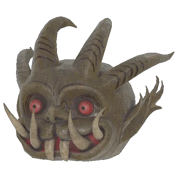 Fasnacht goblin mask