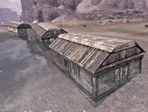 Sunken beach house
