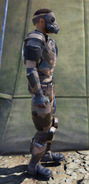 Forest scout armor side