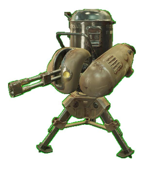 Automated turret (Fallout 76)
