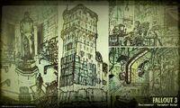 Art of Fallout 3 environmental CA2