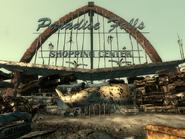 FO3 Paradise Falls — Closed gate