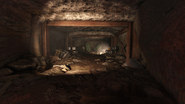 FO76 Makeshift Vault Interior Entrance