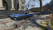 Fo76 Sugarmaple flying car