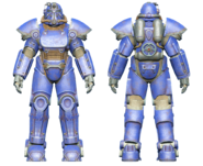 FO4CC T-51 power armor blue