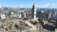 FO4 Dorchester Heights monument (1)