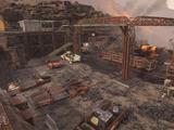 廢棄的基特里礦場