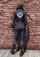 FO76 BOS Jumpsuit Back