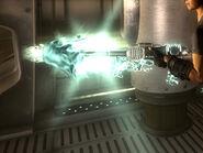 Alien disintegrator side shot