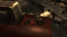 FNVOWB Broken detonator and bomb collar
