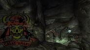FNV GK supply cave graffiti 1