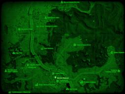 FO4 Аптека Квинси (карта мира).png