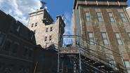 FO4 South Fens Tower scaffold