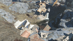 FO4 old gullet sinkhole ext.png