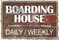 FO76 Boarding House sign