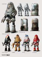 Fo4 protectron models and pods