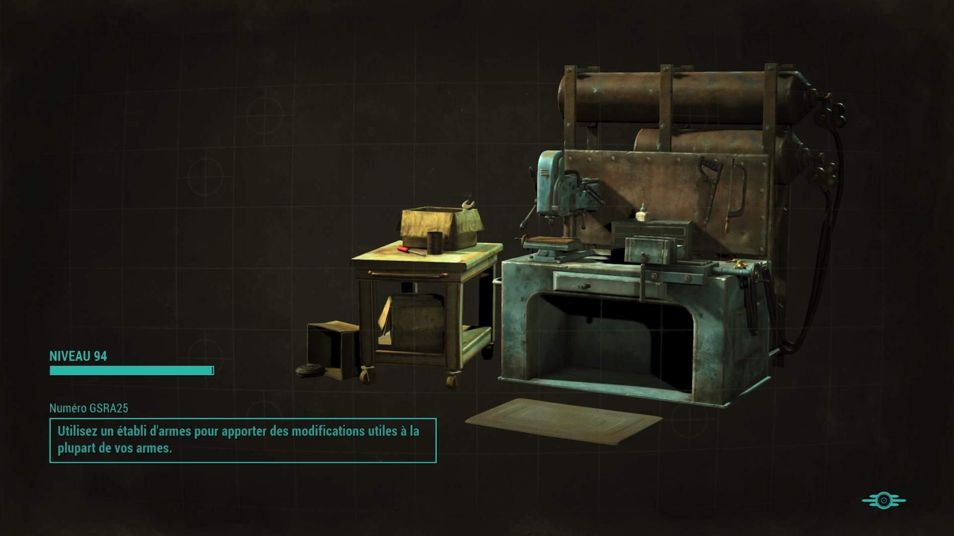Écrans de chargement de Fallout 4