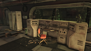 FO76SD Enclave research facility (Decontamination note)