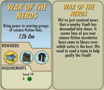 FoS War of the Nerds card