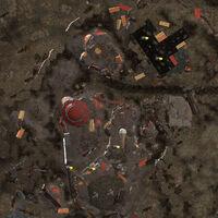 Nuka-World junkyard local map