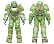 FO4CC T-60 power armor green