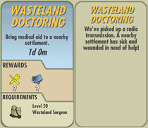 FoS Wasteland Doctoring card