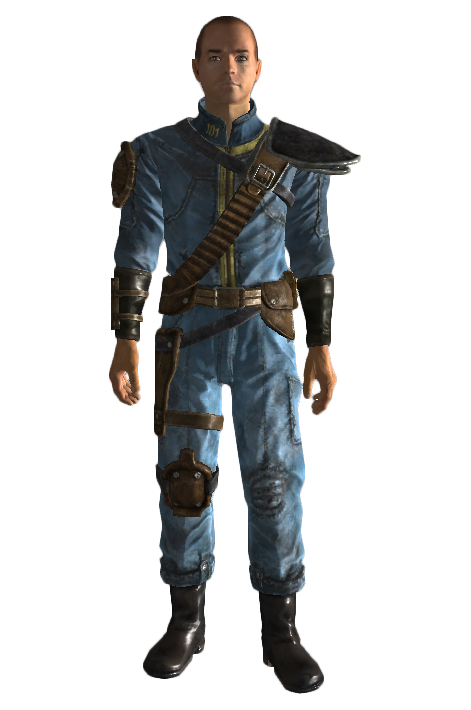 Fallout 3 armor and clothing