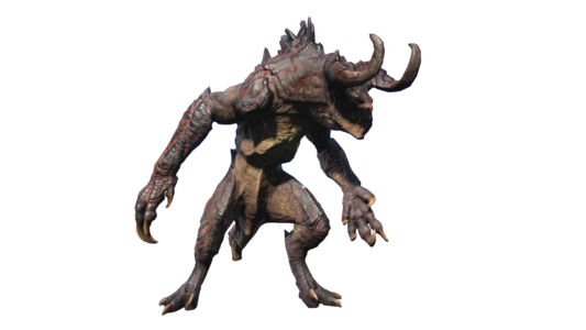 FO4 Deathclaw alpha