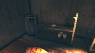 FO76SD Orwell Orchards bomb shelter (Trapped)