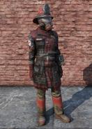 FO76 Fire Breather Uniform Full Female