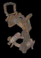 FO76 armor light raider torso 0